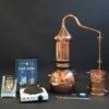 Complete Set Roodkoperen kolom distilleerketel alambiek