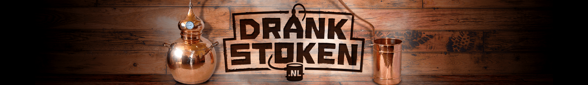 Drank Stoken website header