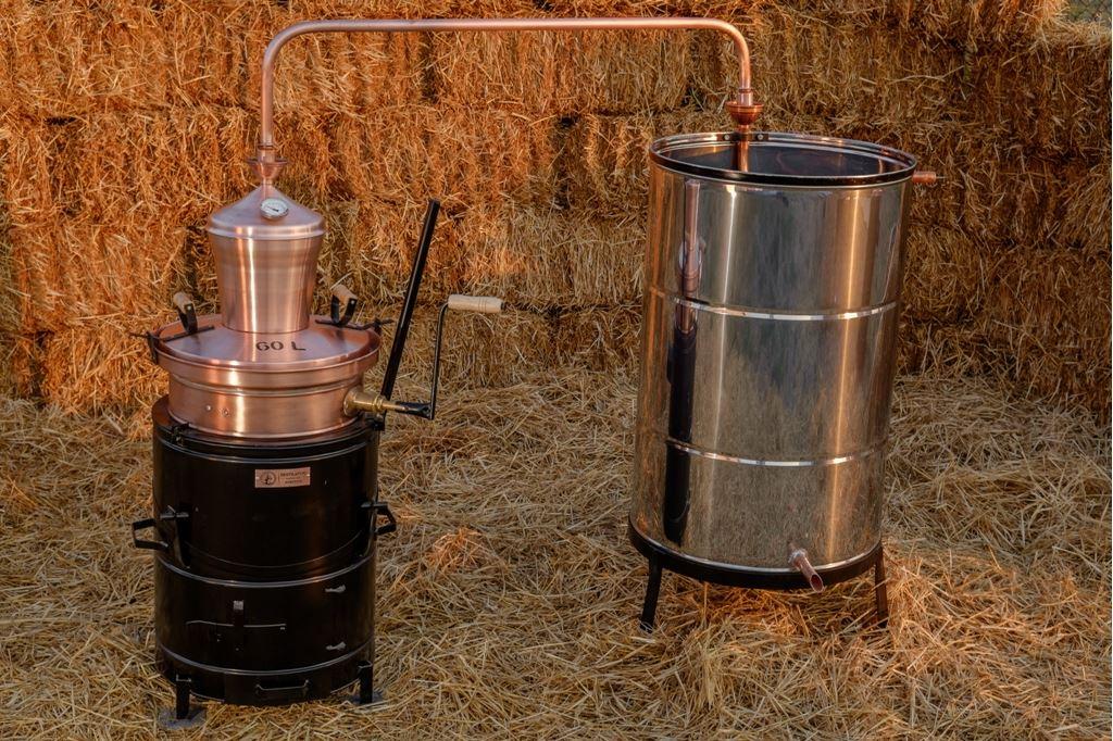 60 liter professionele distilleerketel | drank stoken