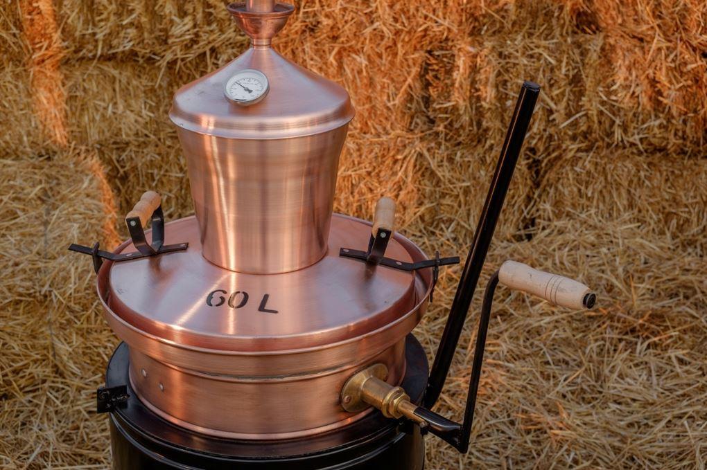 60 liter distilleerketel | drank stoken