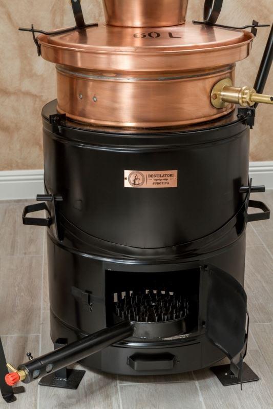 Professionele distilleerketel | drank stoken