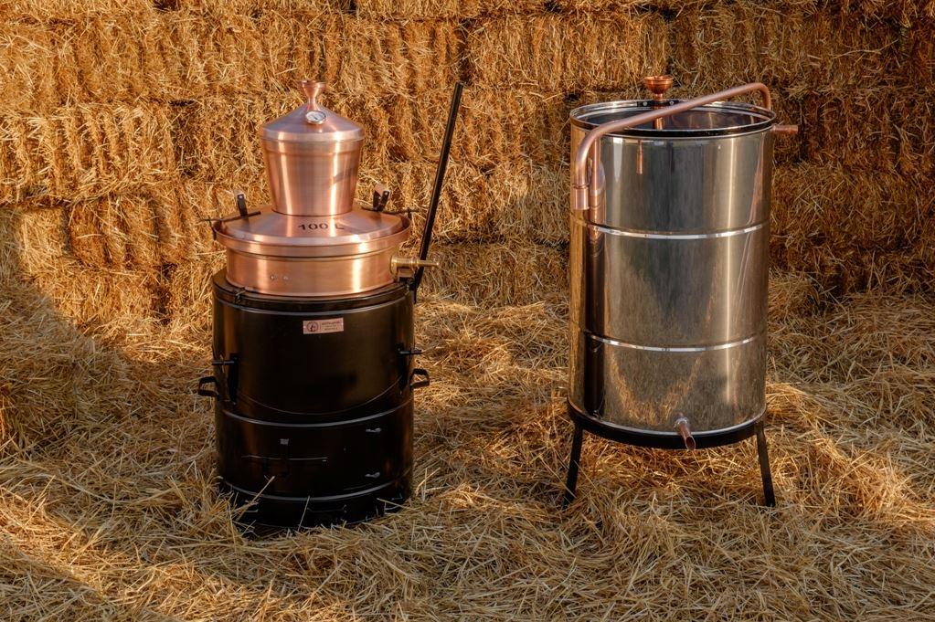 Distilleerketel professional 100 liter | drank stoken