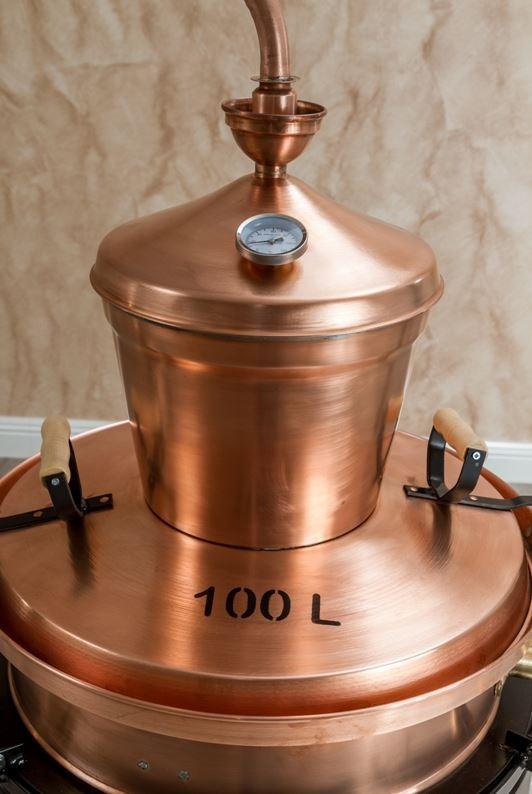 100 liter distilleerketel professionals
