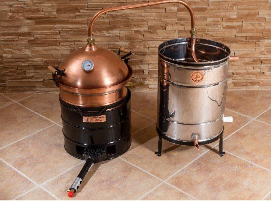 distilleerketel stookketel 35 liter