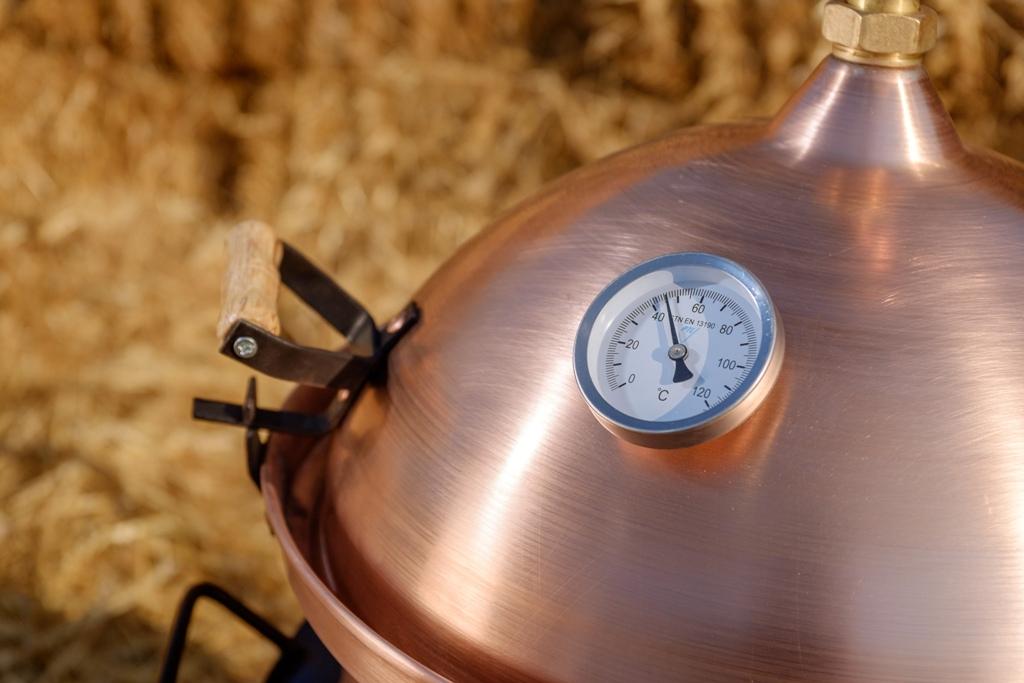 Thermometer distilleerketel hobby voor fruit | drank stoken