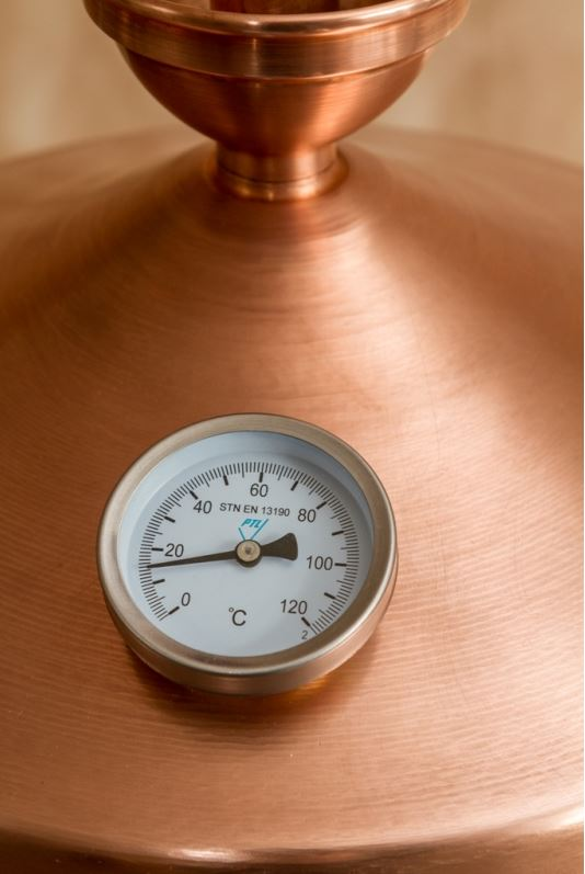 Thermometer koperen distilleerketel | drank stoken