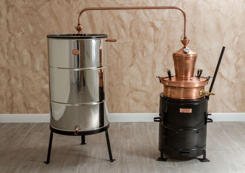 Profesionele distilleerketel 100 liter | drank stoken