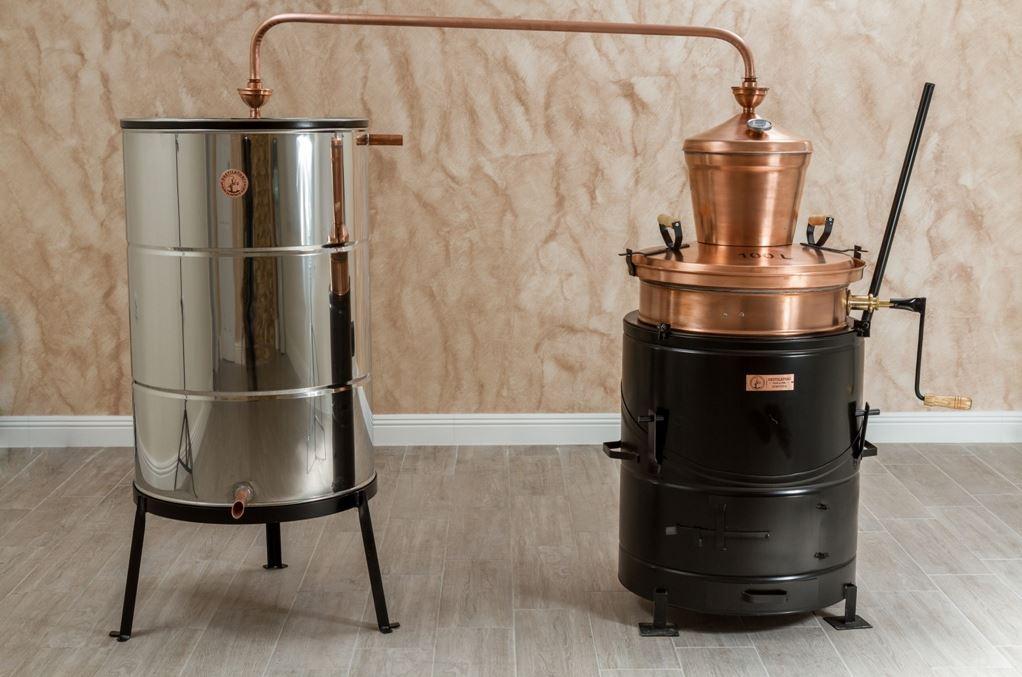 Professionele distilleerketel/stookketel 100 liter