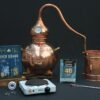 Complete set moonshine alambiek distilleerketel