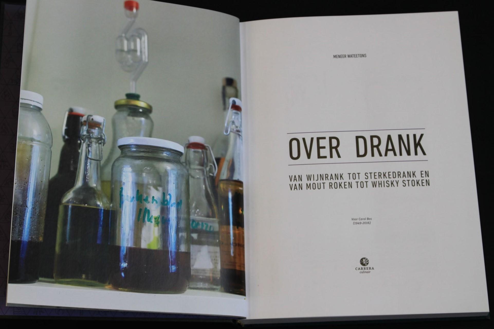 Boek over drank | drank stoken