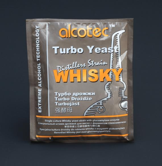 Wisky turbo gist yeast