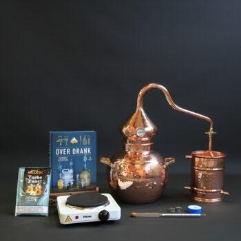 Complete set moonshine alambiek distilleerketel | drank stoken