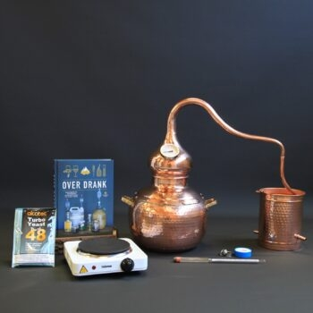 Complete set moonshine alambiek distillerketel type B | drank stoken