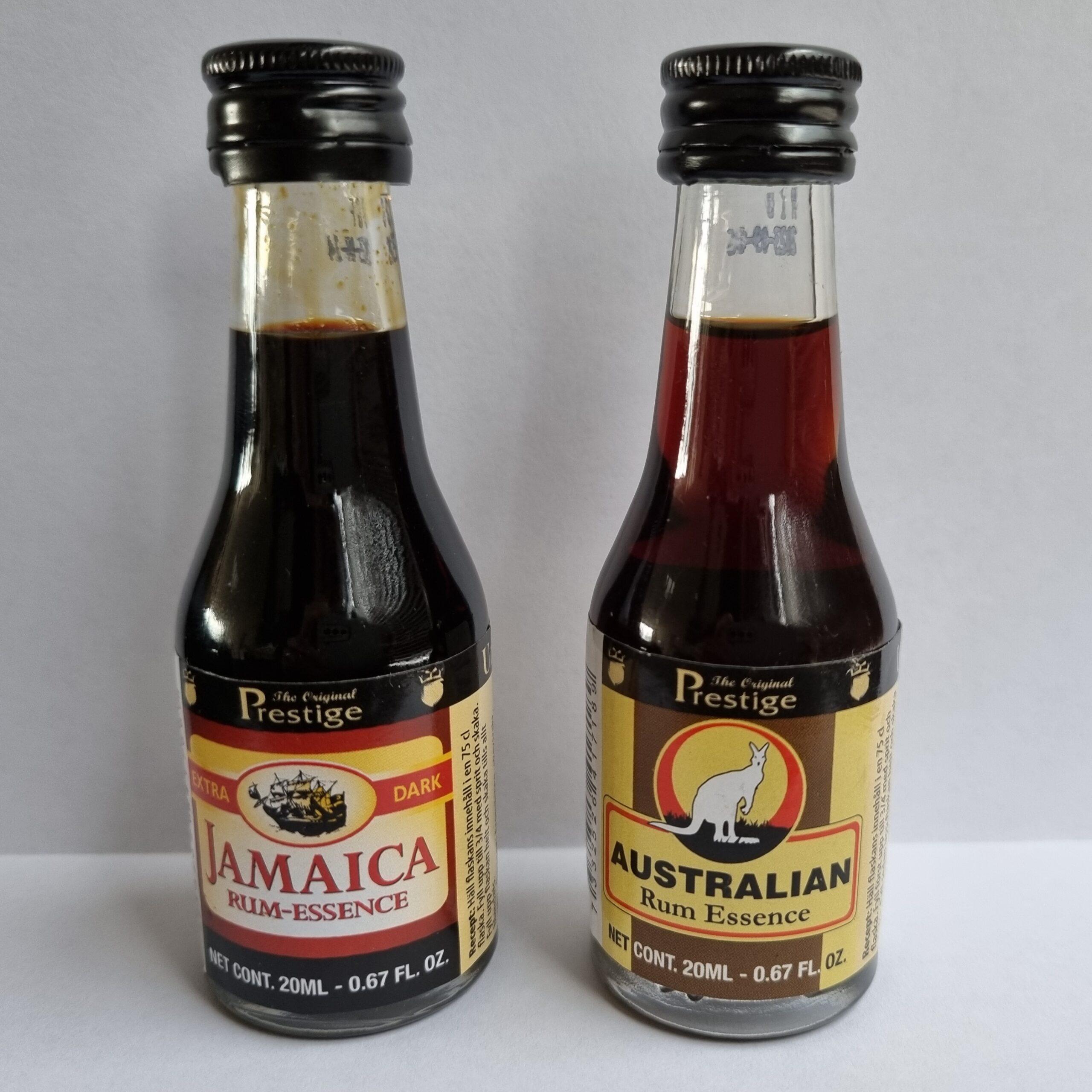 Australische rum essence | Jamaicaanse rum essence | Drank stoken